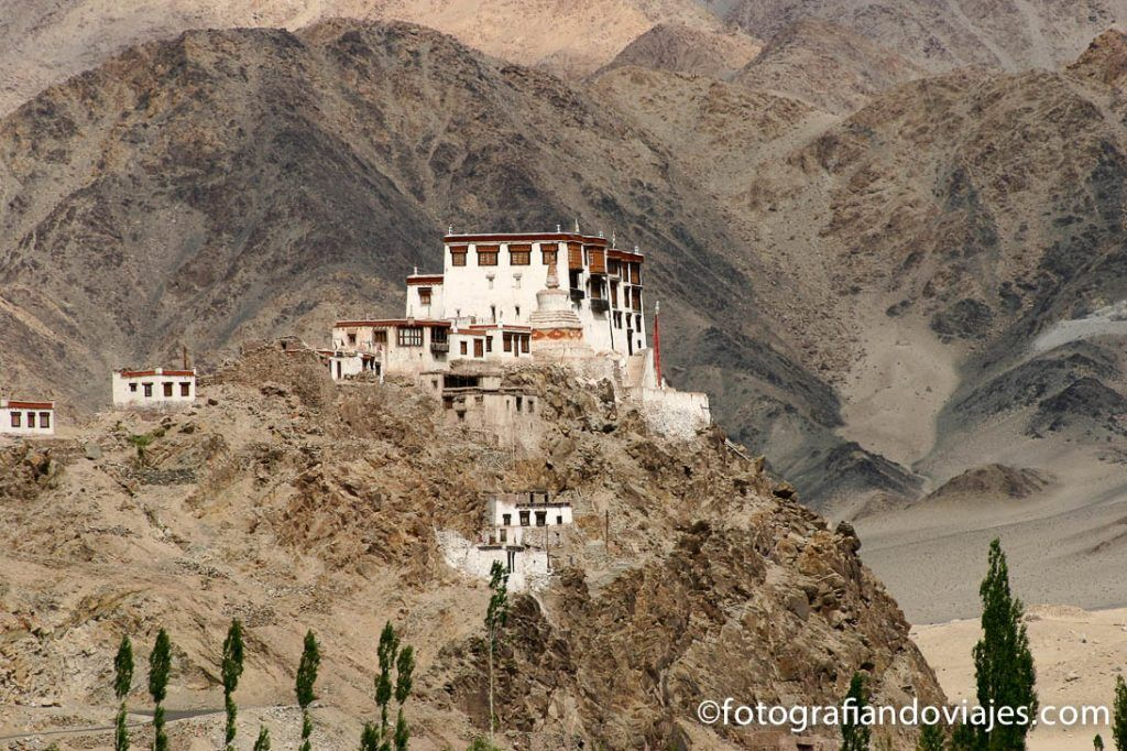 Monasterio de Stakna en Ladakh Leh