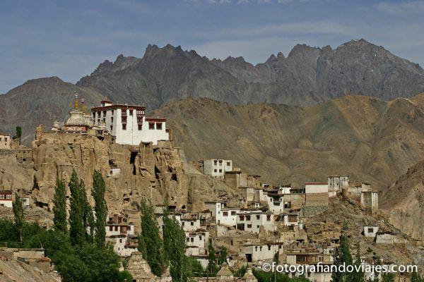Monasterio lamayuru de Ladakh