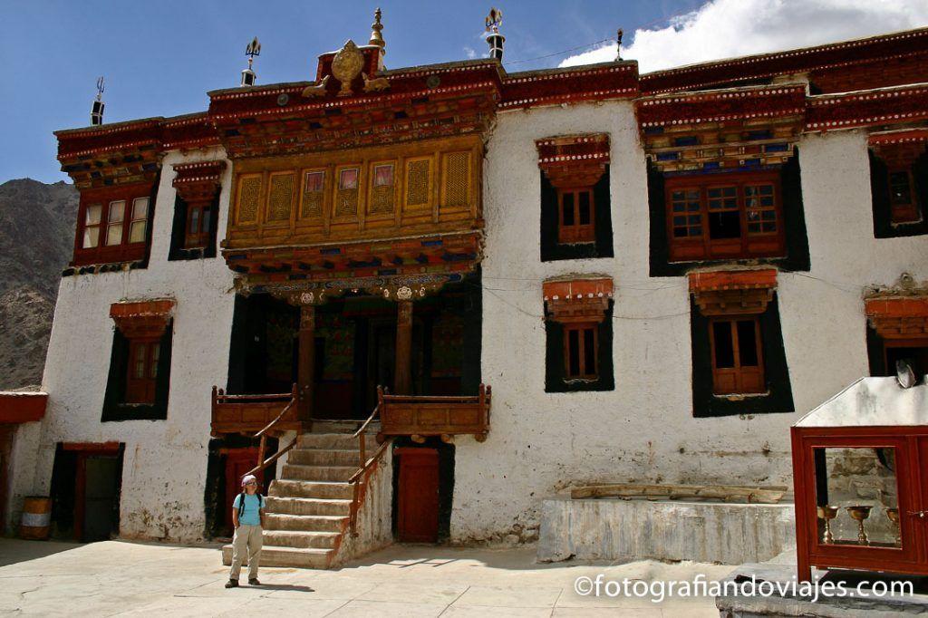Monasterio de Likir en Ladakh oeste de leh