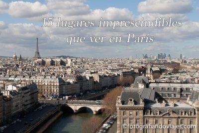 Qué ver en París