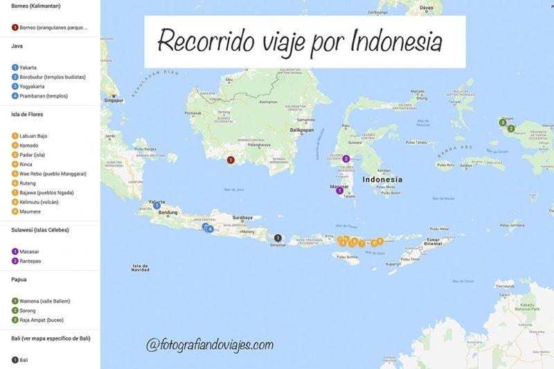Indonesia recorrido