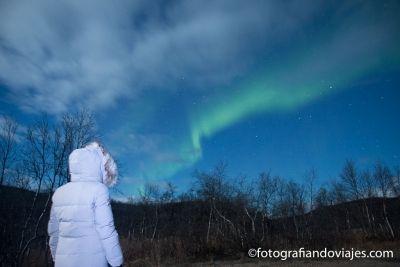 Auroras boreales Tromso Noruega