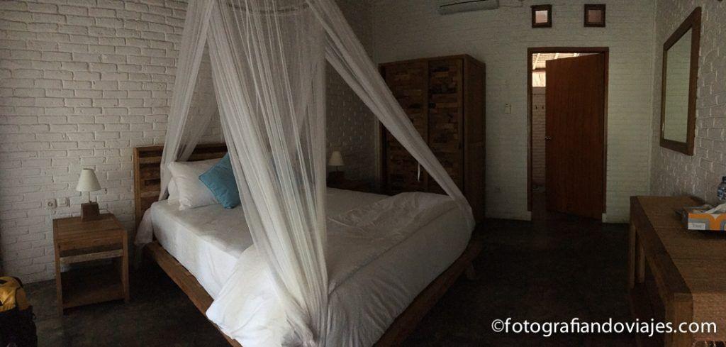 hotel con dosel en indonesia