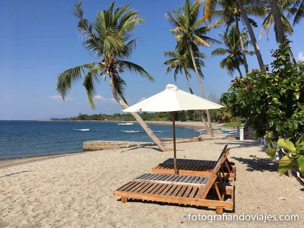 Hotel en la playa isla de Flores