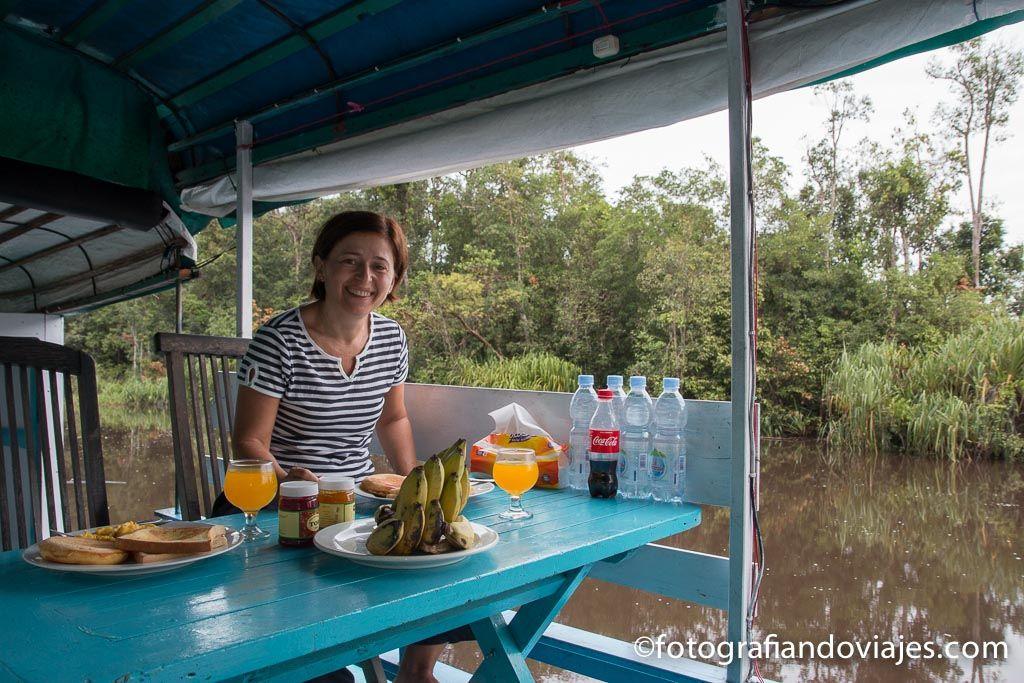 organizar tu viaje en klotok Tanjung Puting en Borneo