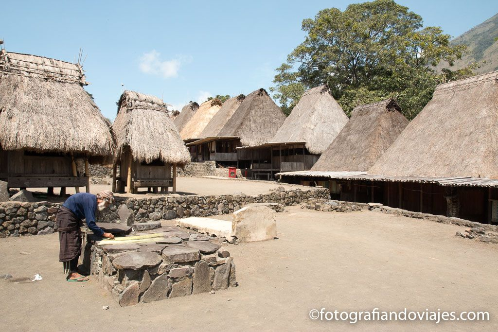Bena pueblo Ngada que ver en Flores