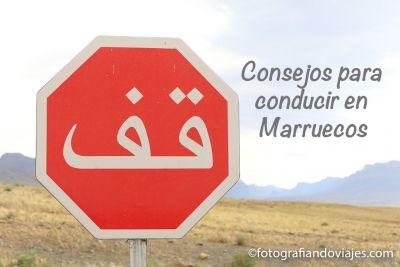 Conducir en Marruecos
