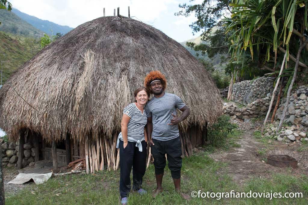 Ray de Go Visit Papua