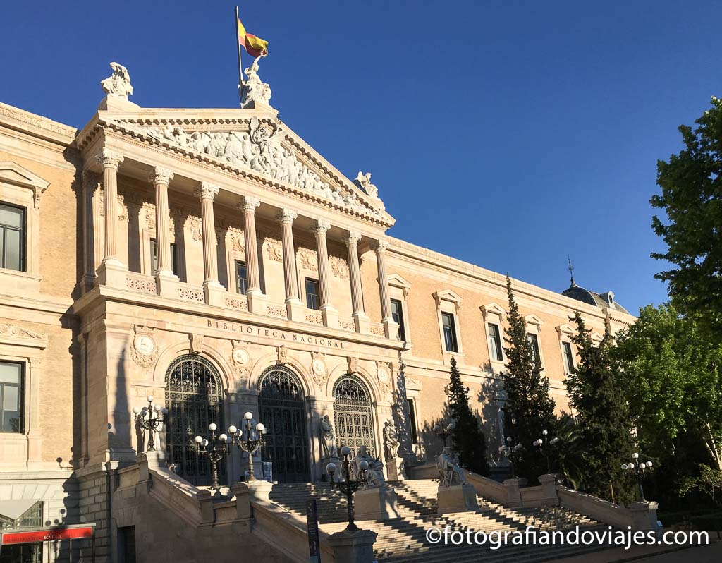 Bilblioteca nacional Madrid