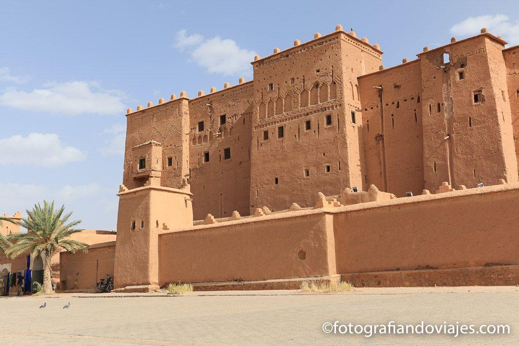 Kasbah Taourirt en Ouarzazate