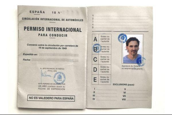 Carnet conducir internacional