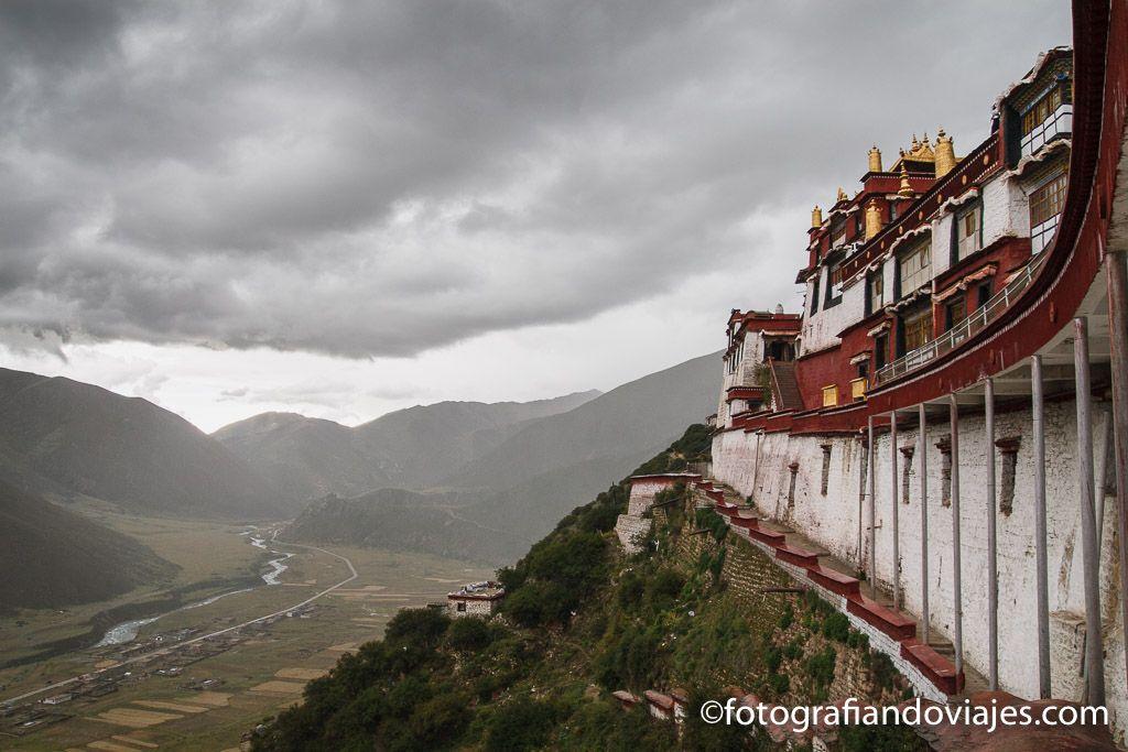 Drigung til monasterio de tibet