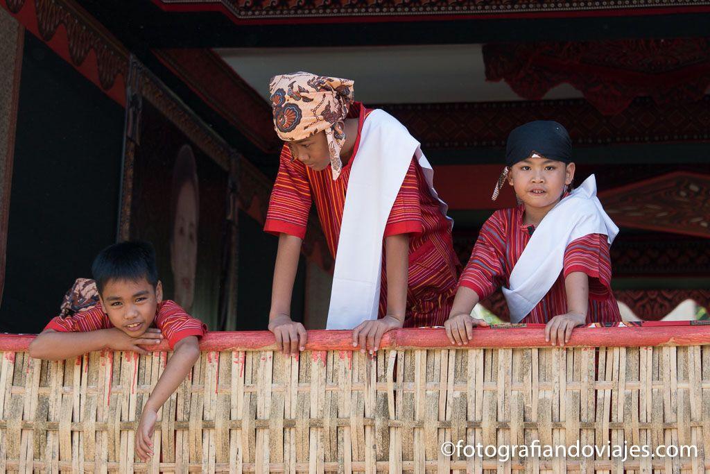 Como es un funeral Tana Toraja Sulawesi