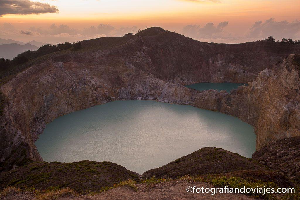Amanecer Volcan Kelimutu isla de Flores