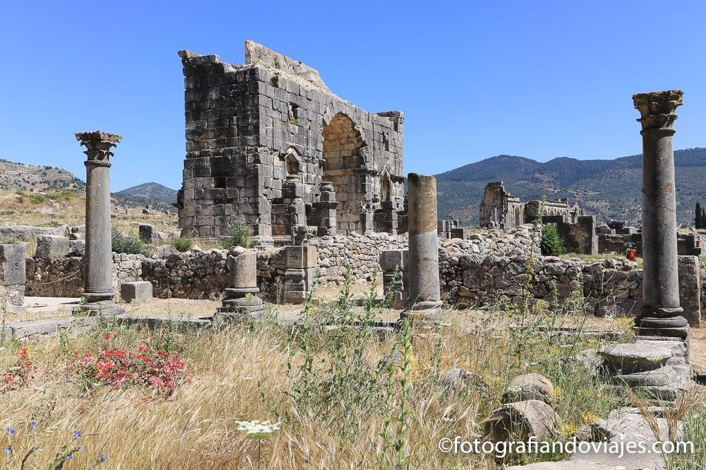 Arco del triunfo o de Caracalla