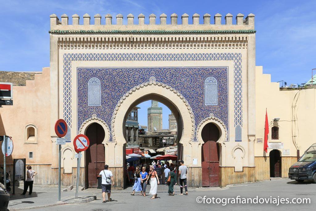 Bab Bou Jeloud- Bab Boujloud oPuerta Azul