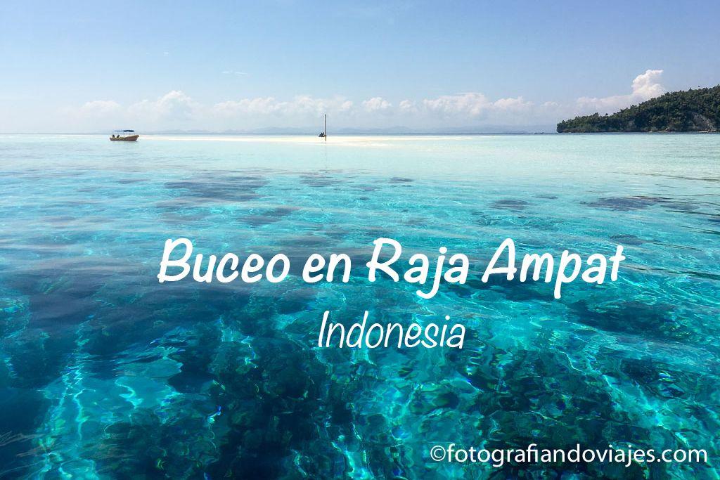 Buceo en Raja Ampat Indonesia
