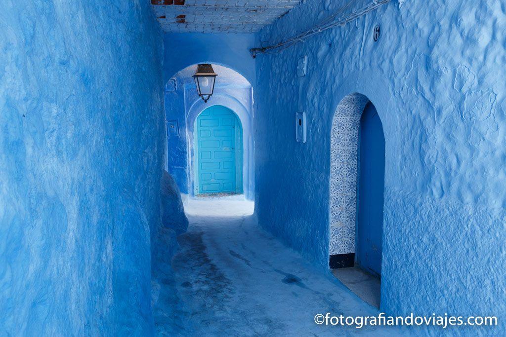 Chaouen Marruecos paseo a pie