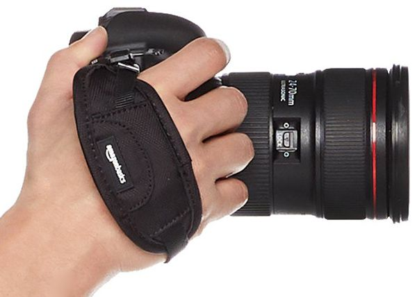 Correa de mano para llevar la cámara de fotos
