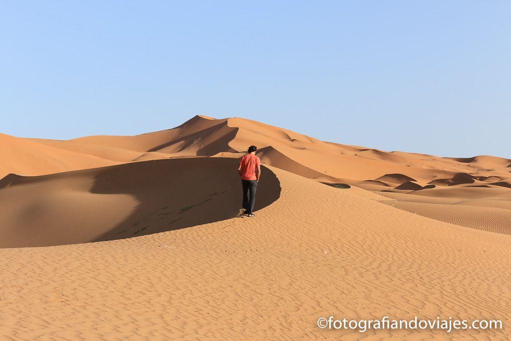 Que ver en el desierto Erg Chebbi Merzouga Marruecos