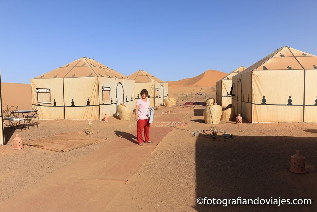 campamento desierto Erg Chebbi