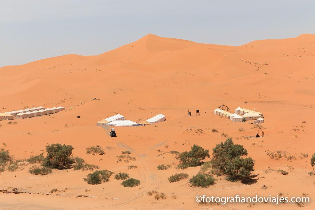 Campamentos en el desierto Erg Chebbi