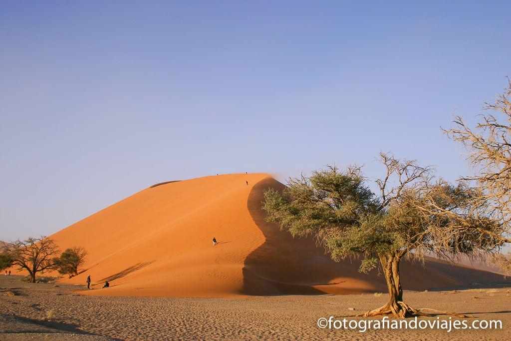 Enorme duna en el desierto Namib