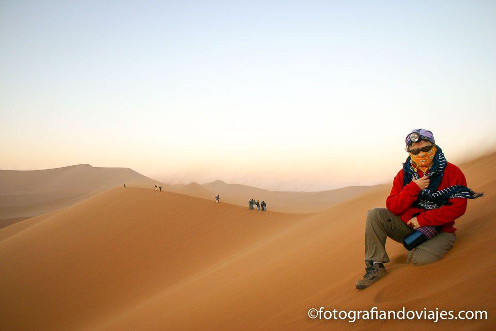Duna 45 en el desierto Namib
