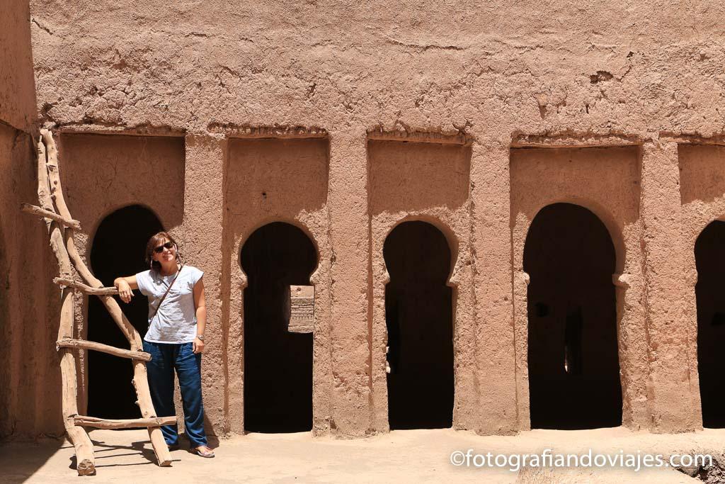 casa fortificada de adobe en Marruecos