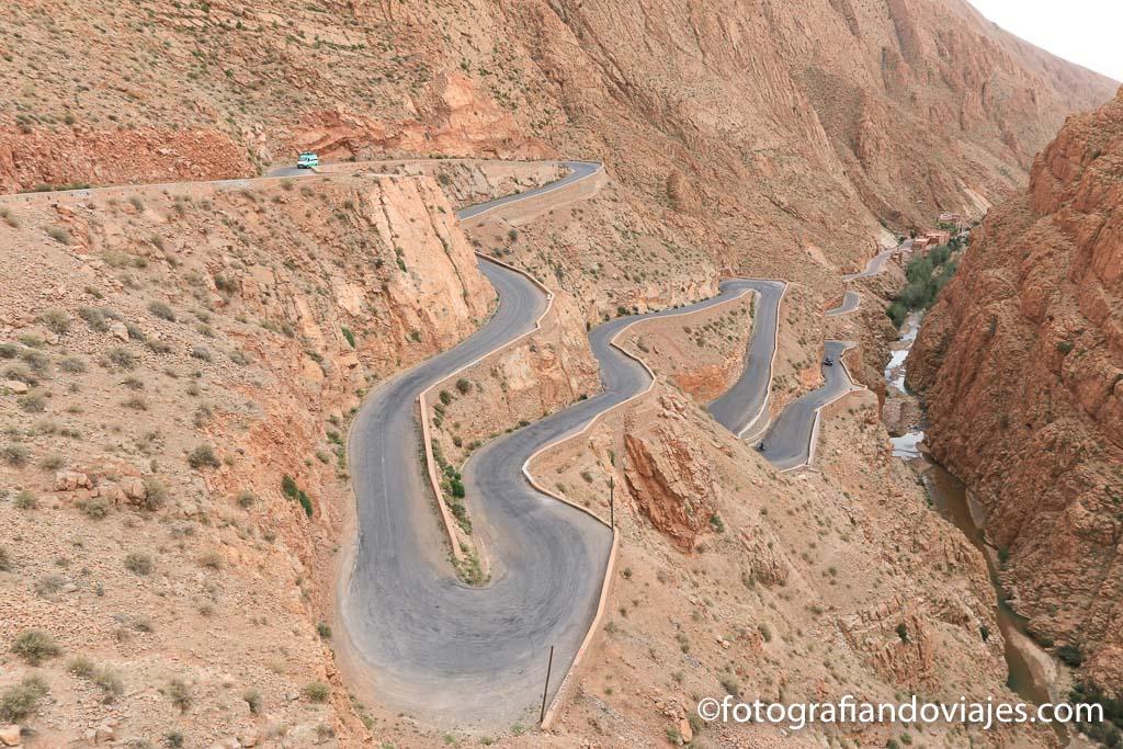 Valle del Dades en la ruta de las mil kasbahs