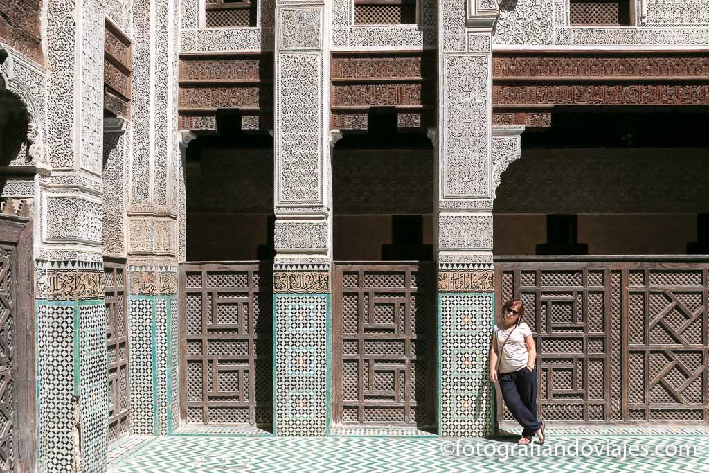 Madrasa Bou Inania Meknes Mequinez