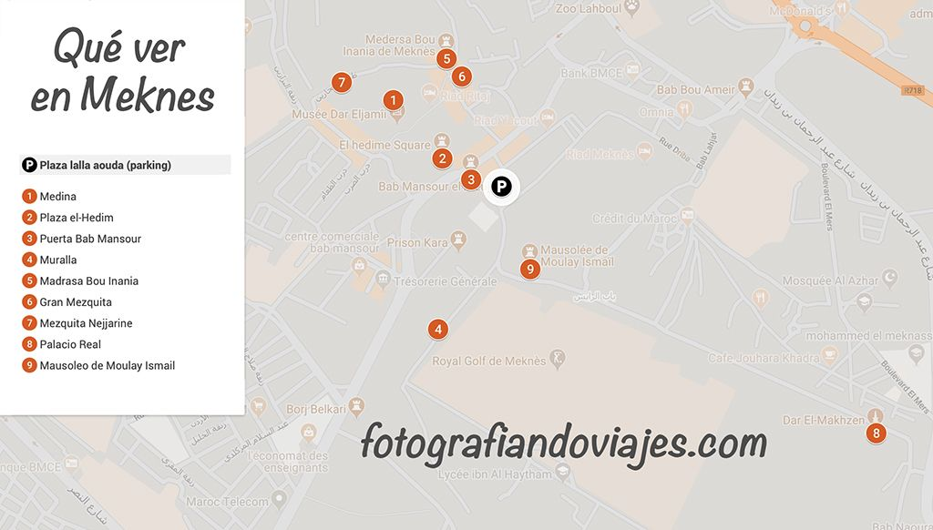 Que ver en Meknes en un día Mequinez Marruecos