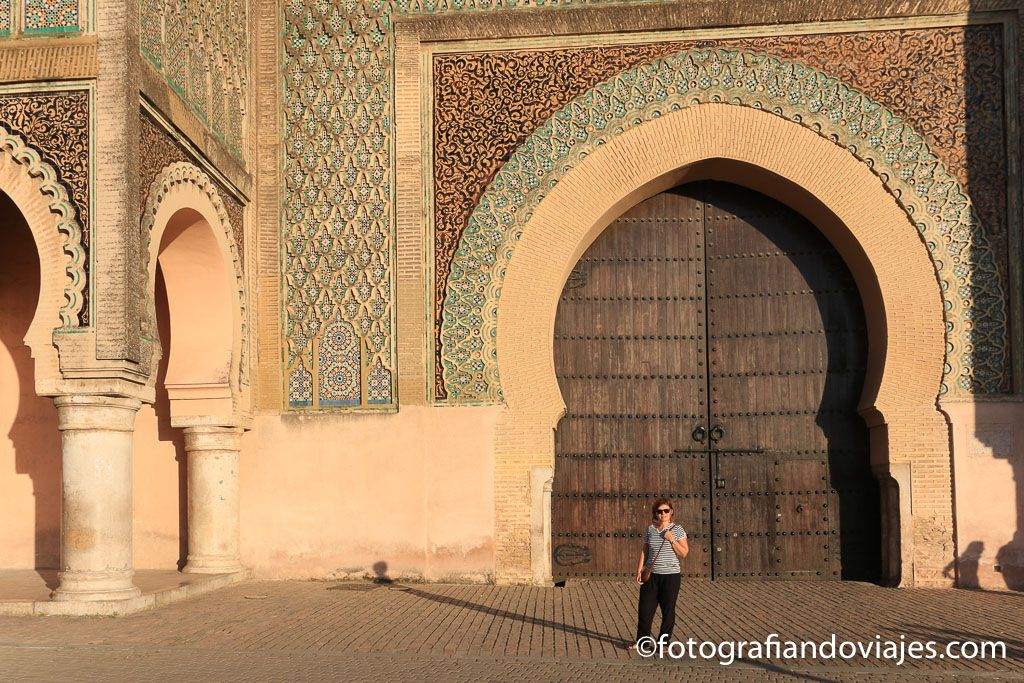 Puerta Bab el Mansour en Meknes