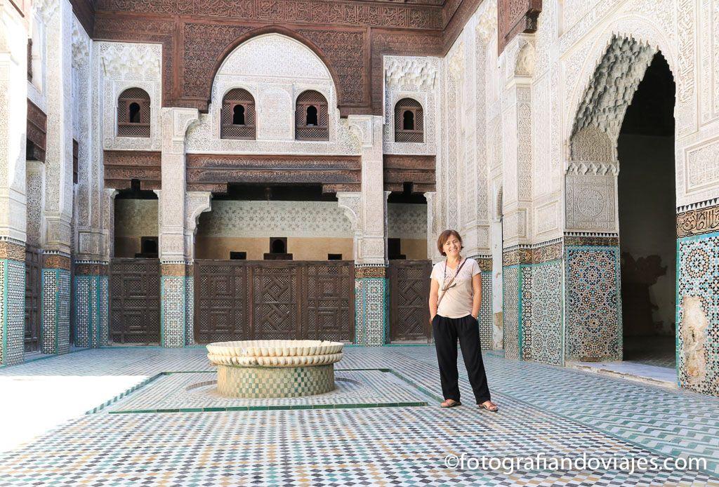 Madrasa Bou Inania Meknes o Mequinez