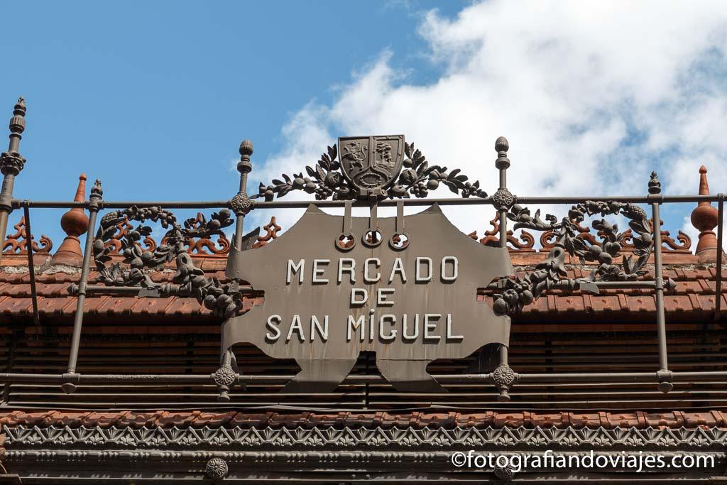 Mercado San Miguel comer en Madrid