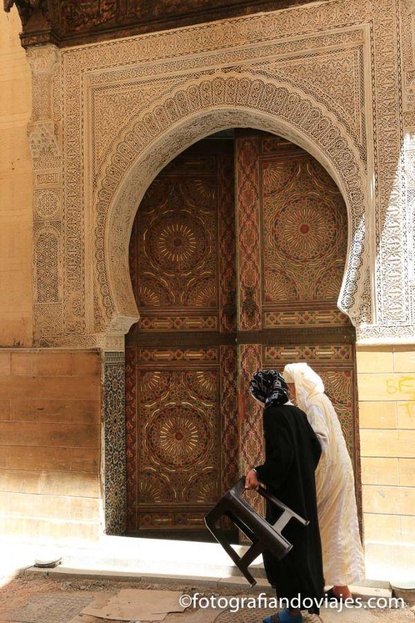 Mezquita mausoleo Zaouia Sidi Ahmed Tijani