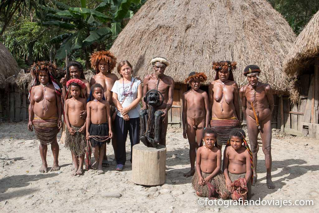 Momia Jiwika en poblado Dani algo que ver en Wamena