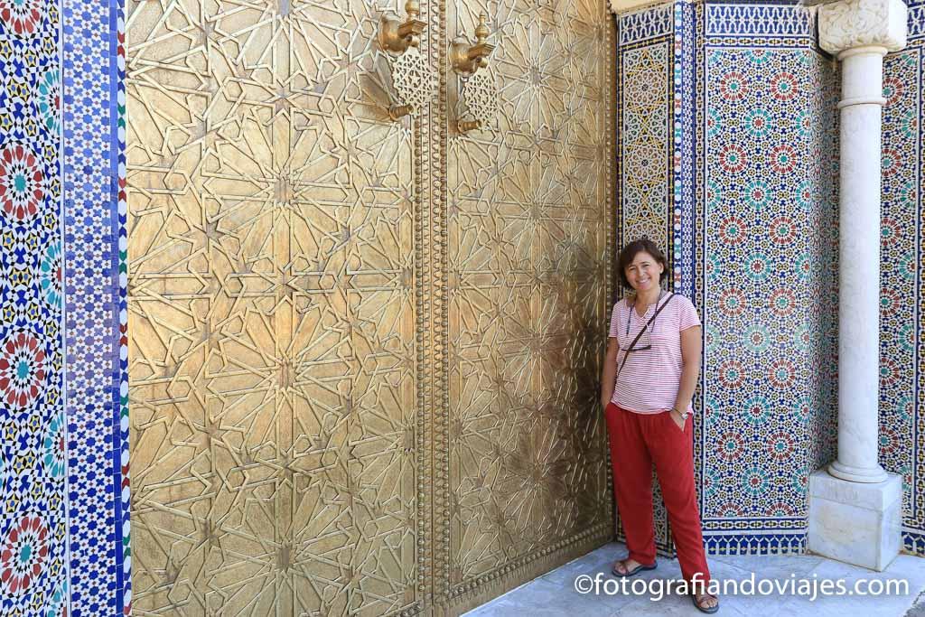 Palacio real en Fes