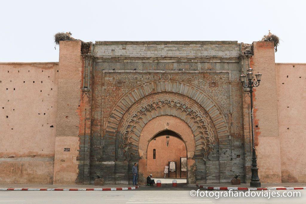 Puerta Bab Agnaou que ver en Marrakech