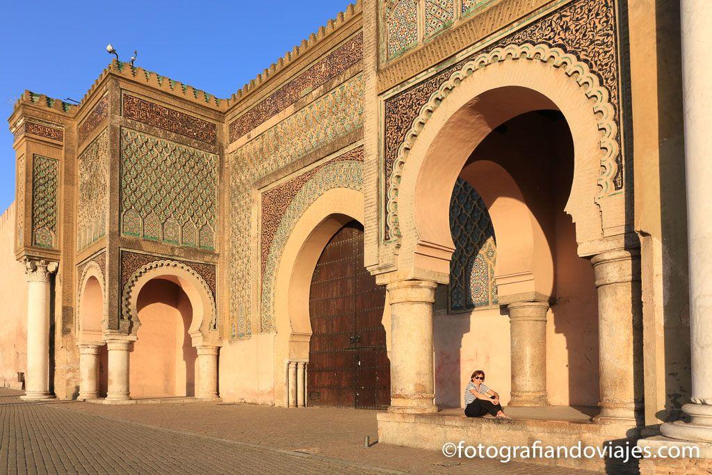 Puerta Bab Mansour