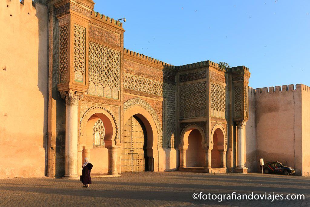 Puerta Bab Mansour de Meknes