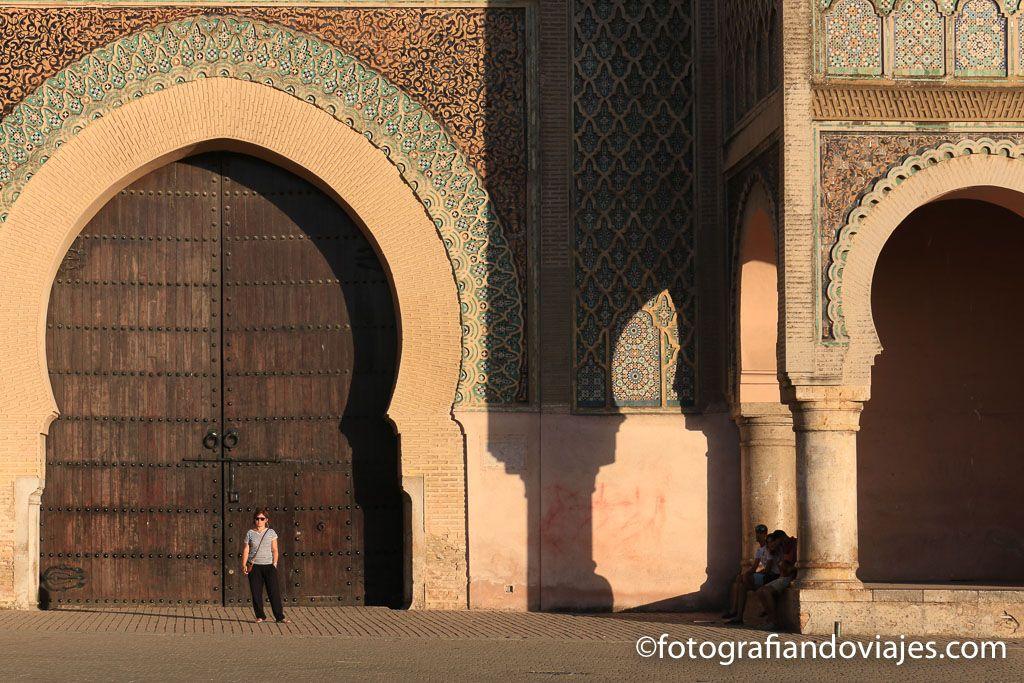 Puerta Bab Mansour de Mequinez