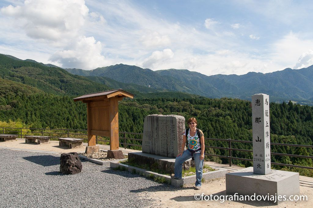 Mirador ruta Nakasendo