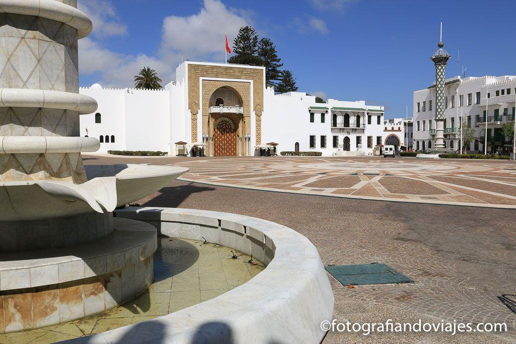 Tetuan plaza hassan II palacio real