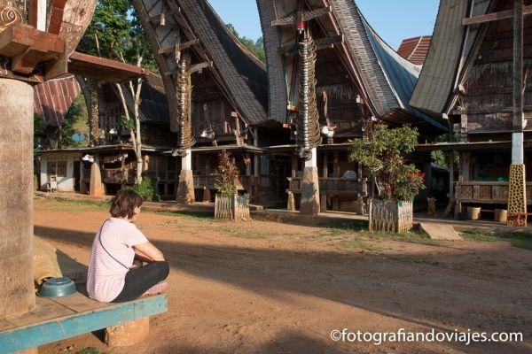 Trekking por Tana Toraja Sulawesi Indonesia