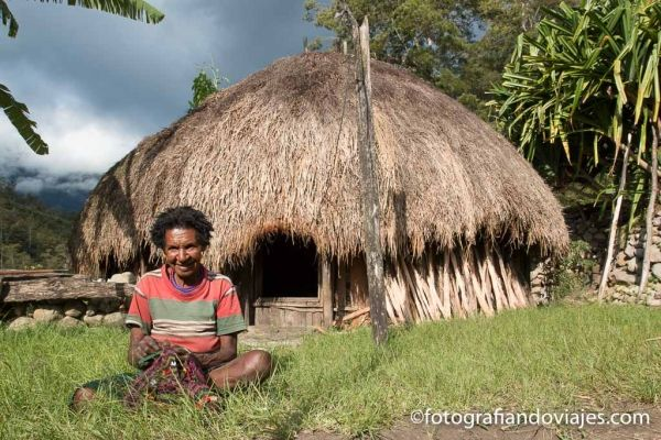 Casa tradicional Dani