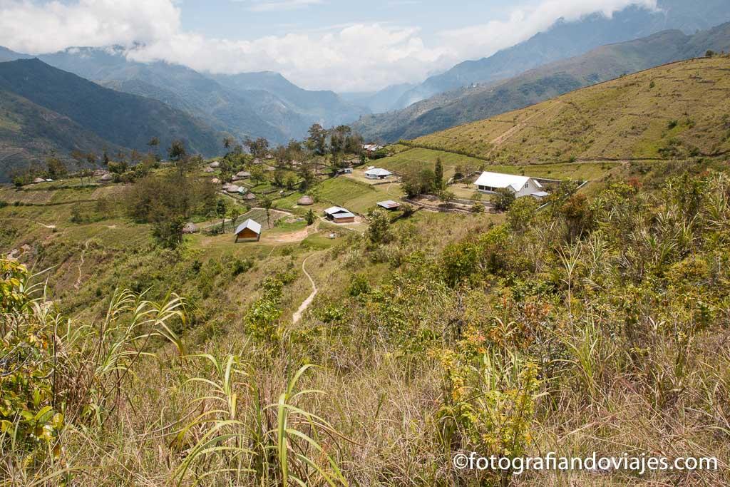 Nuevos pueblos en el valle Baliem