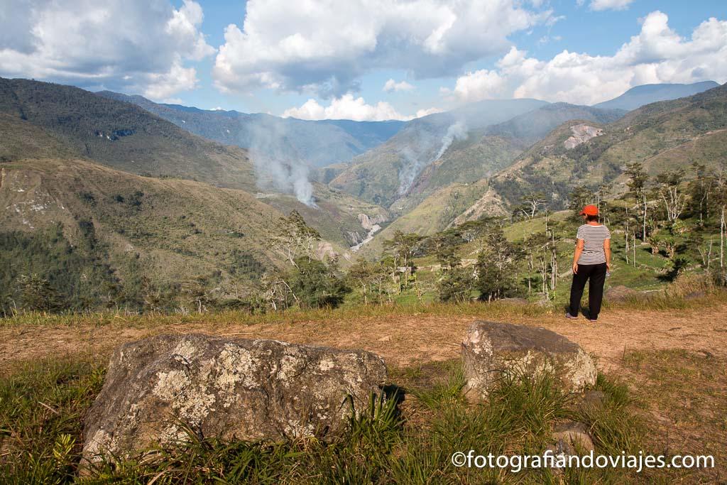 Panoramica del valle Baliem