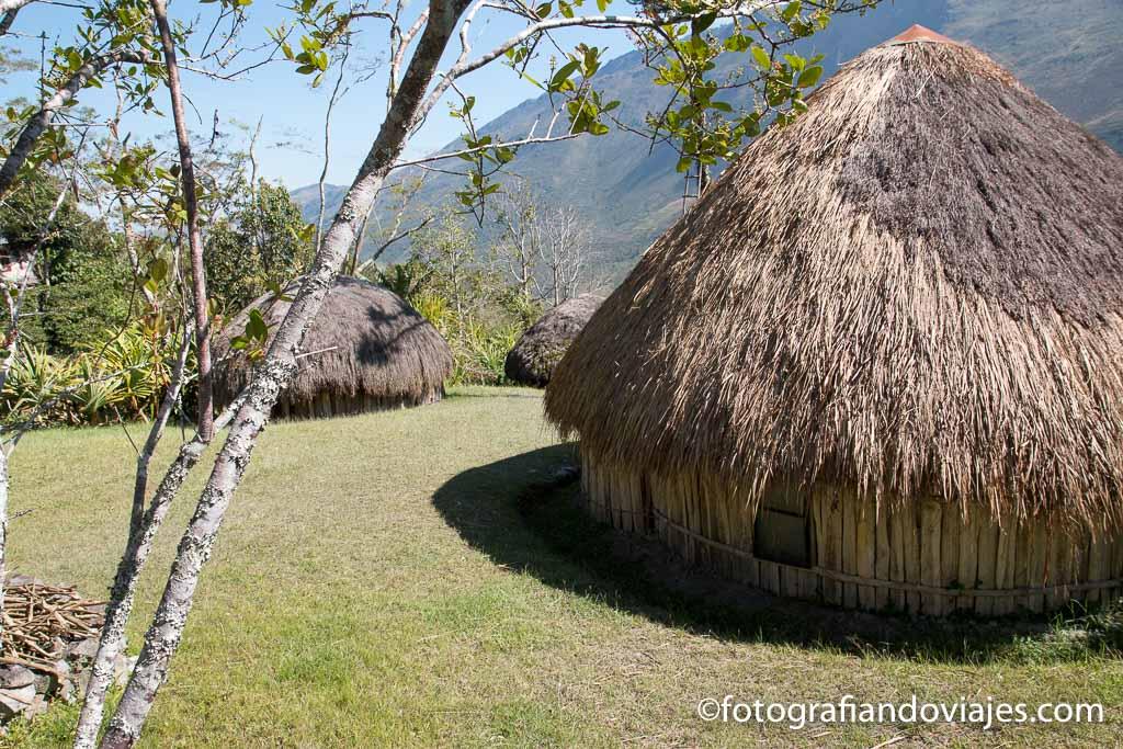 Casas tradicionales Dani