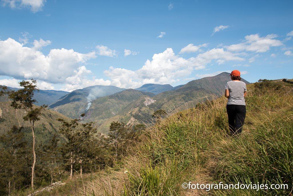 Trekking por el valle de Baliem Papua